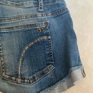 Joe's jeans size 26 - distressed denim shorts
